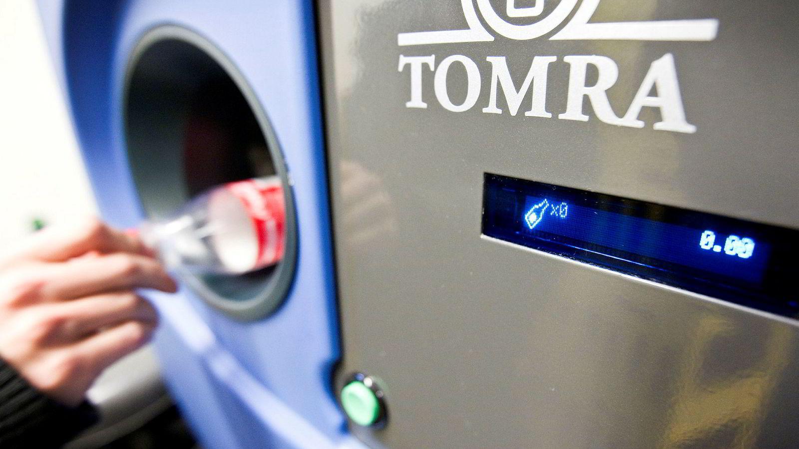 Tomra er en pionér på panteautomater, og er i dag en av verdens ledende aktører på sensorsystemer for optimal ressursutnyttelse.
