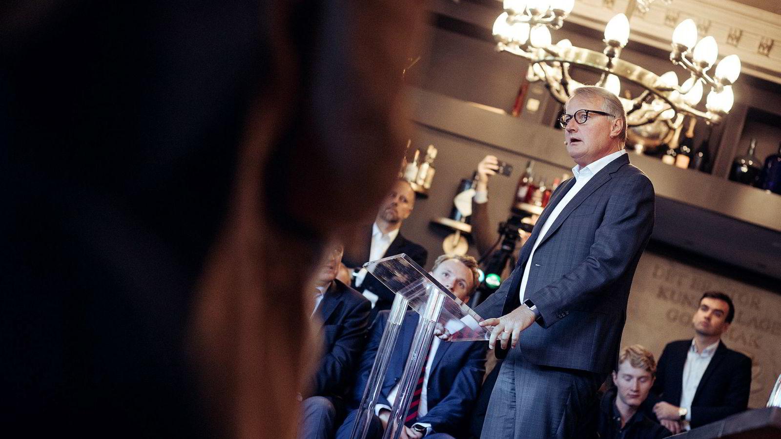 – Da skjønte vi hvor sårbare vi var i forhold til likviditet og funding. For hvis han hadde tatt ut sin milliard dollar og det hadde blitt kjent i markedet, så ville vi ha opplevd noe i nærheten av et «bank run», sier DNB-sjef Rune Bjerke om møtet med en amerikansk kunde i 2008.