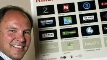Administrerende direktør i RiksTV, Espen Thorsby.