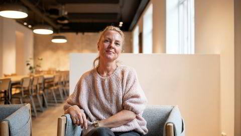 Janne Lysø i POL er den kvinnen i kommunikasjonsbransjen som tjener mest, ifølge DNs oversikt. Fotografert på POLs kontorer i Oslo sentrum.