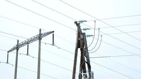 Årets første måned markerte en nedgang i strømproduksjonen.
