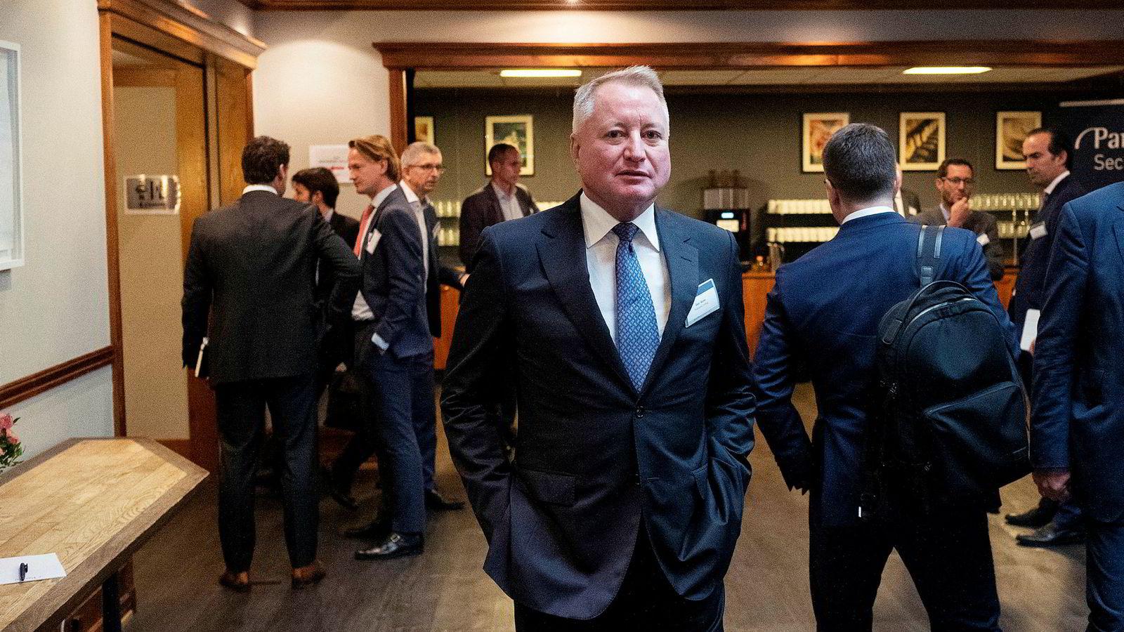 Under Paretokonferansen onsdag ønsket ikke riggründeren Geir Aune å kommenterte den ubetalte advokatregningen.