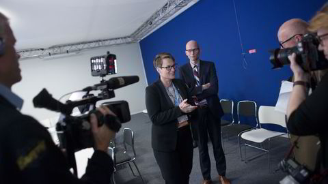 Klimaminister Tine Sundtoft annonserte i Paris fredag at Norge forlenger regnskogsatsingen med ti år. Foto: