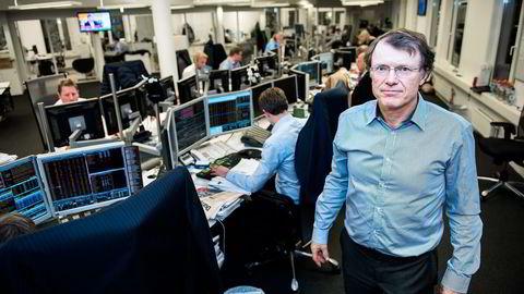 Sjefstrateg Peter Hermanrud i Swedbank råder investorer til å satse på de kjedelige aksjene. Foto: Klaudia Lech