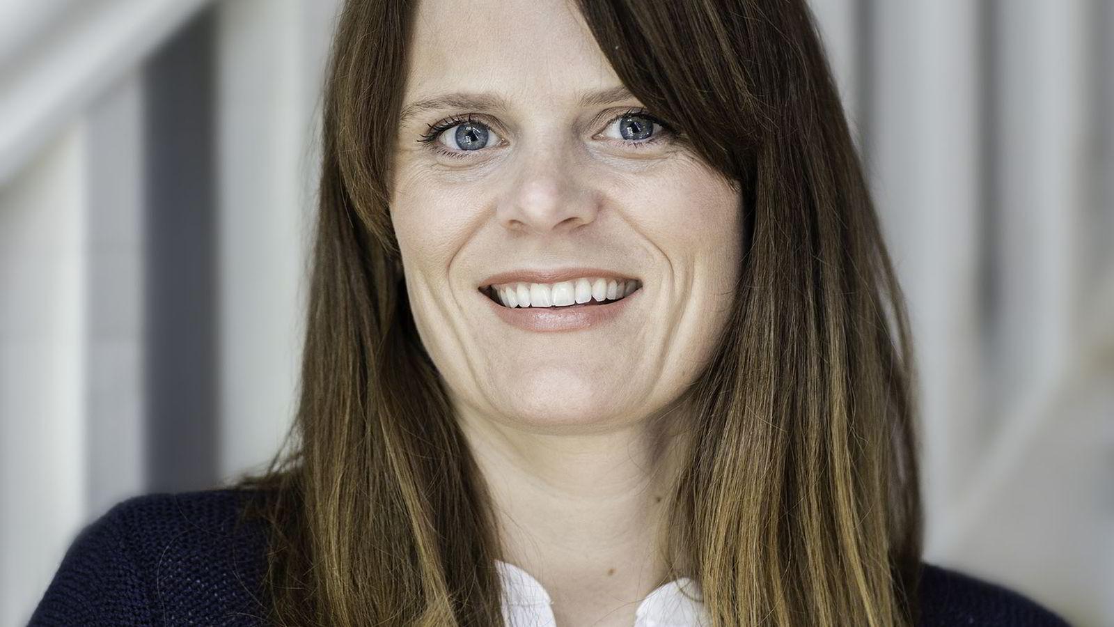 Leder i AksjeNorge, Lene M. Refvik