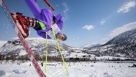 Simen Andresen kjørte best i Myrkdalen og vant skiballettkonkurransen. Nå vil han trolig stå som regjerende mester i hvert fall ti år.