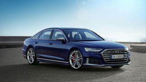 Audi S8 får en V8-motor med 571 hestekrefter.
