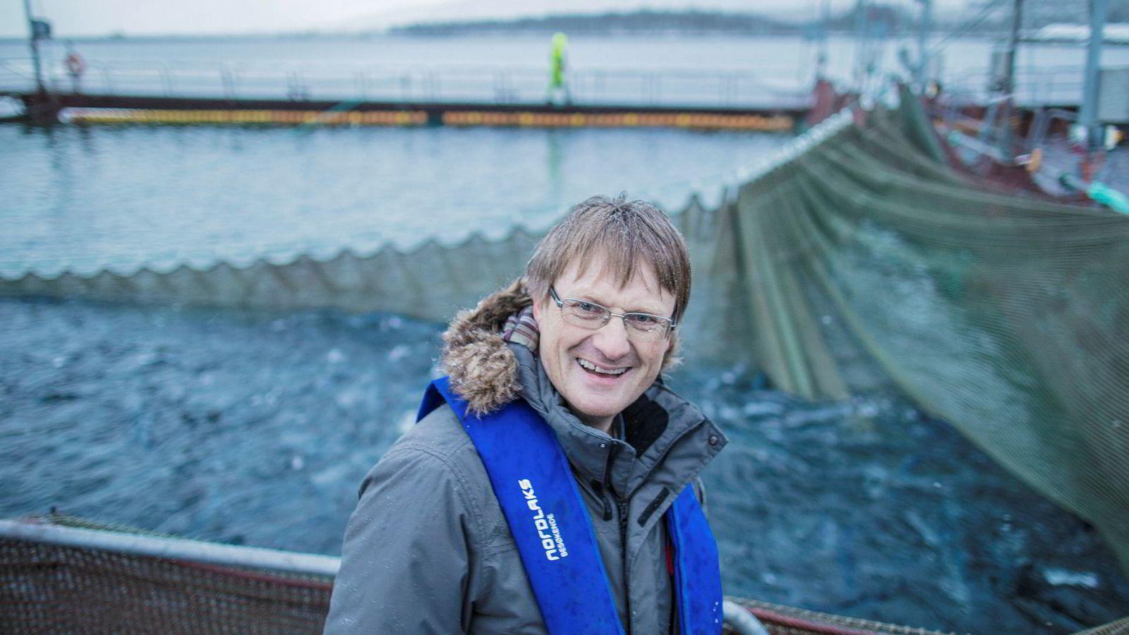 Nordlaks-konsernsjef Inge Berg ga også pengestøtte til Høyre i fjor.