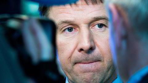 Leder i Norges Bondelag, Lars Petter Bartnes. Foto: Gorm Kallestad,