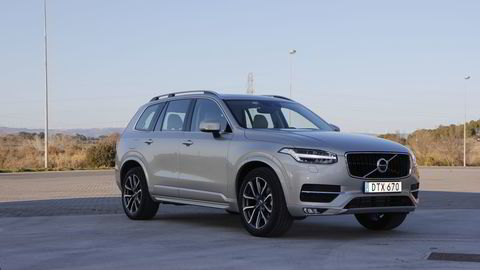 INNERTIER: Den nye XC90 setter en ny standard for Volvo, mener DNs bilekspert. FOTO: EMBRET SÆTER