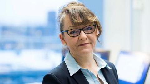 Det tok flere måneder før Line Miriam Haugan meldte inn selskapet sitt. Her fra tiden som statssekretær i Helse- og omsorgsdepartementet.