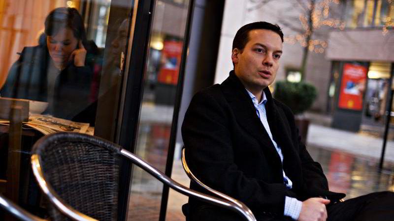 Investeringsøkonom Karl Oscar Strøm i Nordnet.