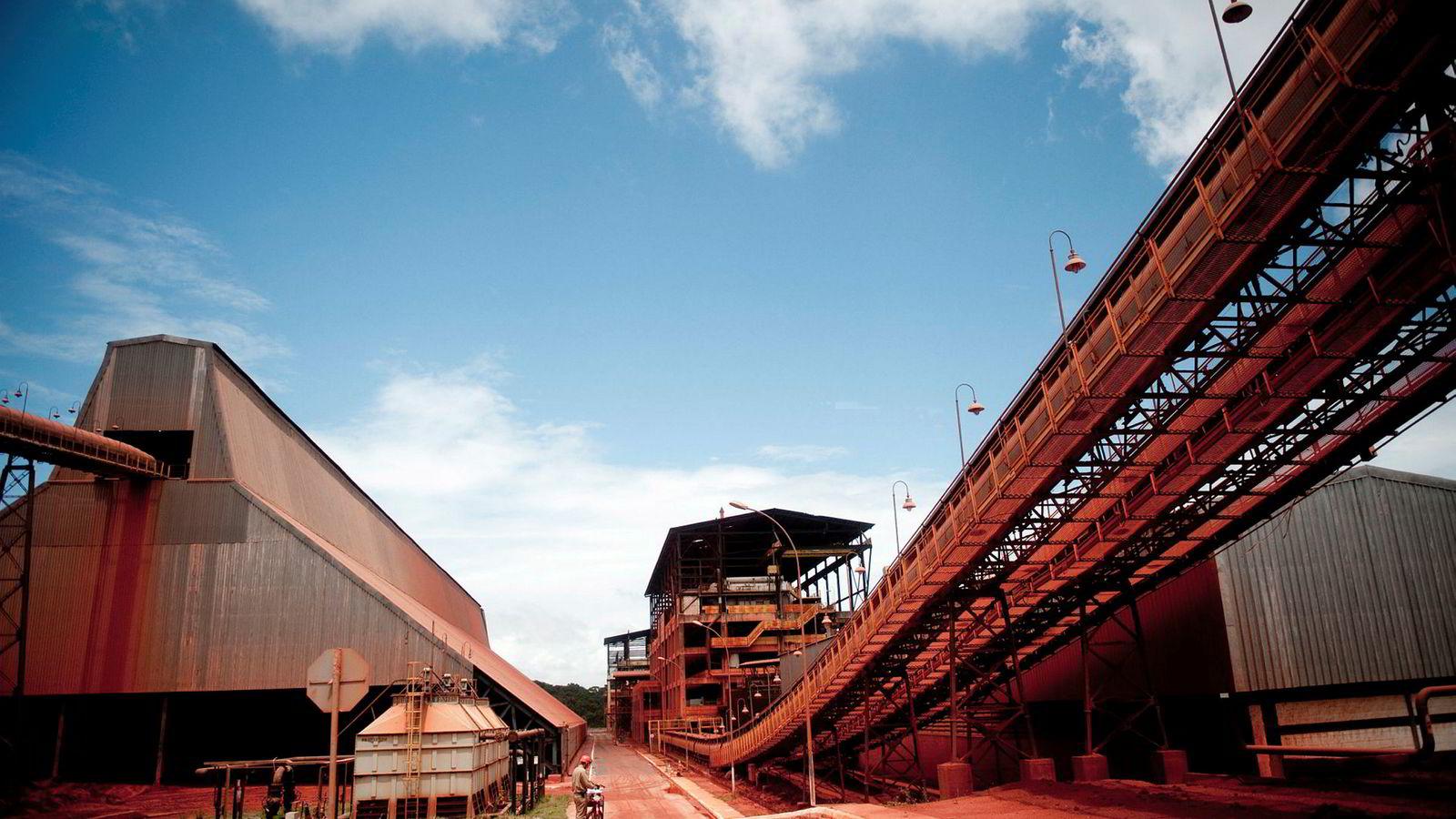 Alunorte er verdens største aluminaraffineri og står for rundt seks prosent av all aluminaproduksjon.
