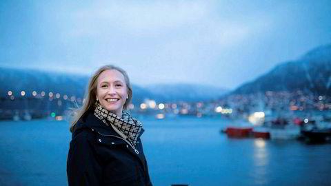 Administrerende direktør, Renate Larsen, i Norges sjømatråd.