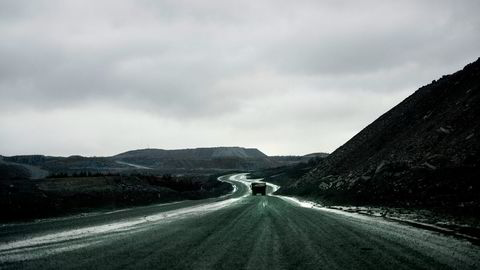 Kirkenes Bjørnevatn. Sydvaranger Gruve AS. Foto: Mikaela Berg