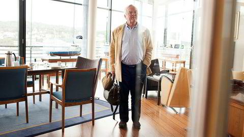 Nat-sjef Herbjørn Hansson holdt torsdag sin første telefonkonferanse på lang tid og lovet som vanlig økt utbytte dersom ratene stiger.