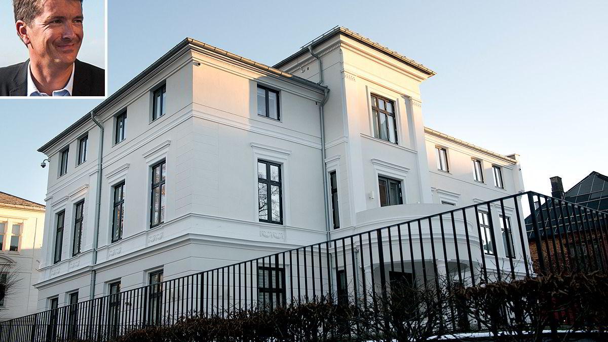 Ole Robert og Monica Reitan har til sammen brukt rundt 150 millioner kroner på byvillaen på Oslo vestkant.