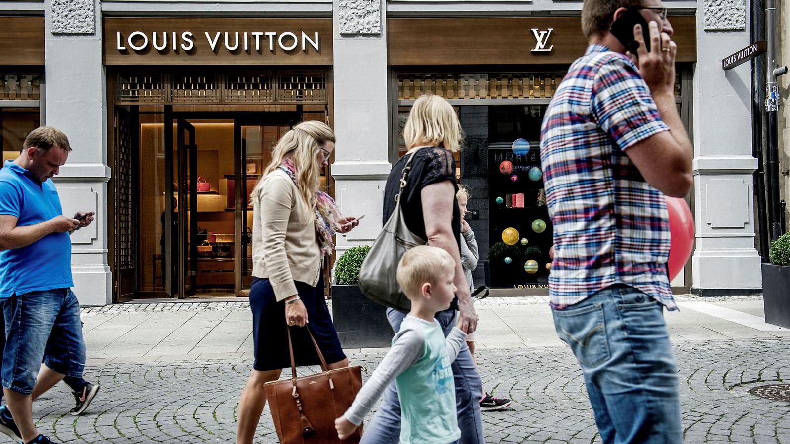 Louis Vuitton har én butikk i Norge, den ligger i Nedre Slottsgate i Oslo.