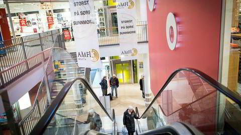 29 av 60 norske kjøpesentre har hatt fallende omsetning i årets tre første kvartaler.