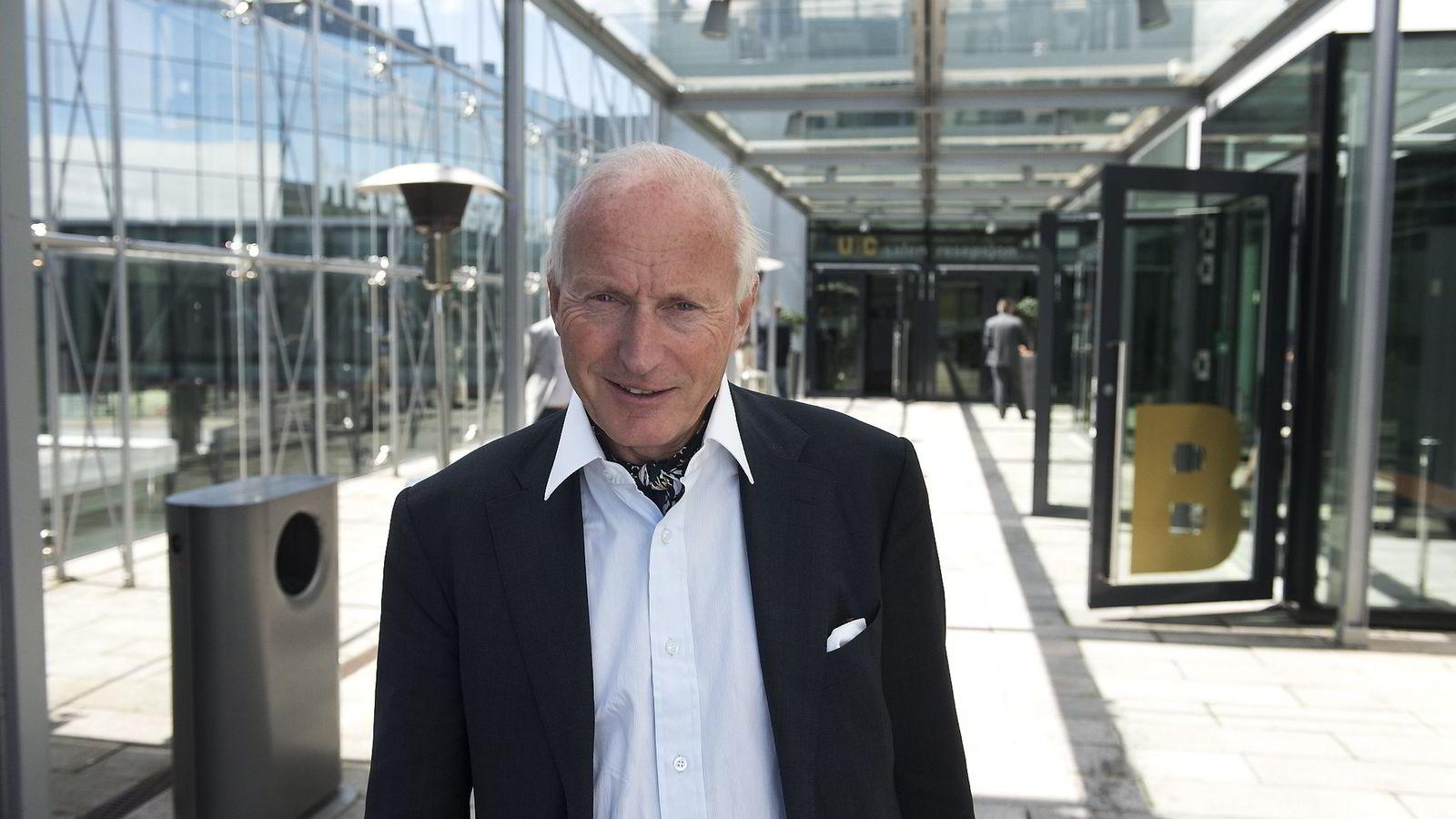 Christian Ringnes på Sjømatkonferansen 2016.