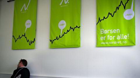 Nettmegler Nordnet kan komme til å forlate Stockholmsbørsen. Her fra et kundekurs i markedspsykologi og investeringsstrategi i regi av selskapet. Foto: Per Thrana