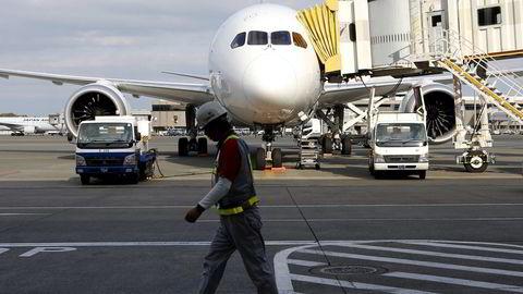 PROBLEM-FLYET. Boeing har hatt en rekke problemer med sine Dreamlinere.