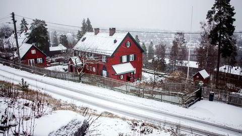 Støle-familien har solgt huset i Holmenkollen og flytter til Sveits.