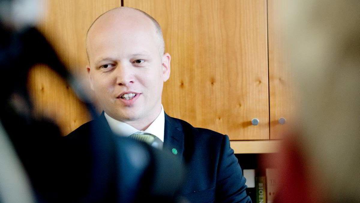 Landbruksminister Trygve Slagsvold Vedum.