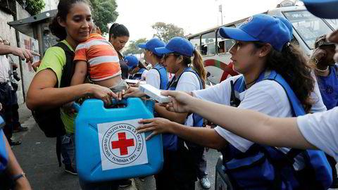Nøden er fortsatt stor i Venezuela.