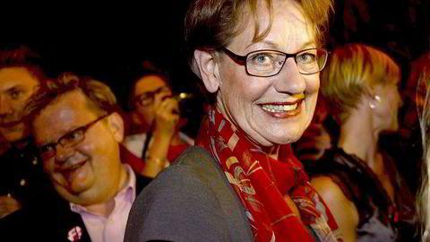 Feministiskt initiativ klarte ikke å komme inn i den svenske Riksdagen ved valget tidligere i høst. Partileder Gudrun Schyman hadde på valgnatten likevel anledning til å være glad over den påvirkningen partiet har hatt i likestillingsspørsmål. Foto: Maja Suslin, AFP/NTB Scanpix.