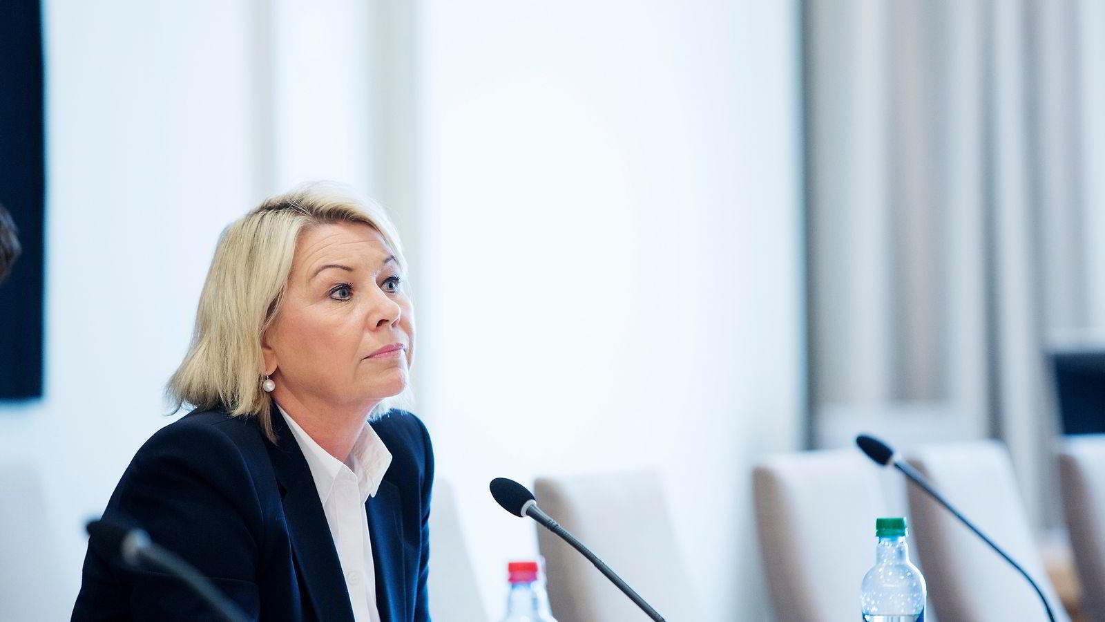 Næringsminister Monica Mæland. Foto: