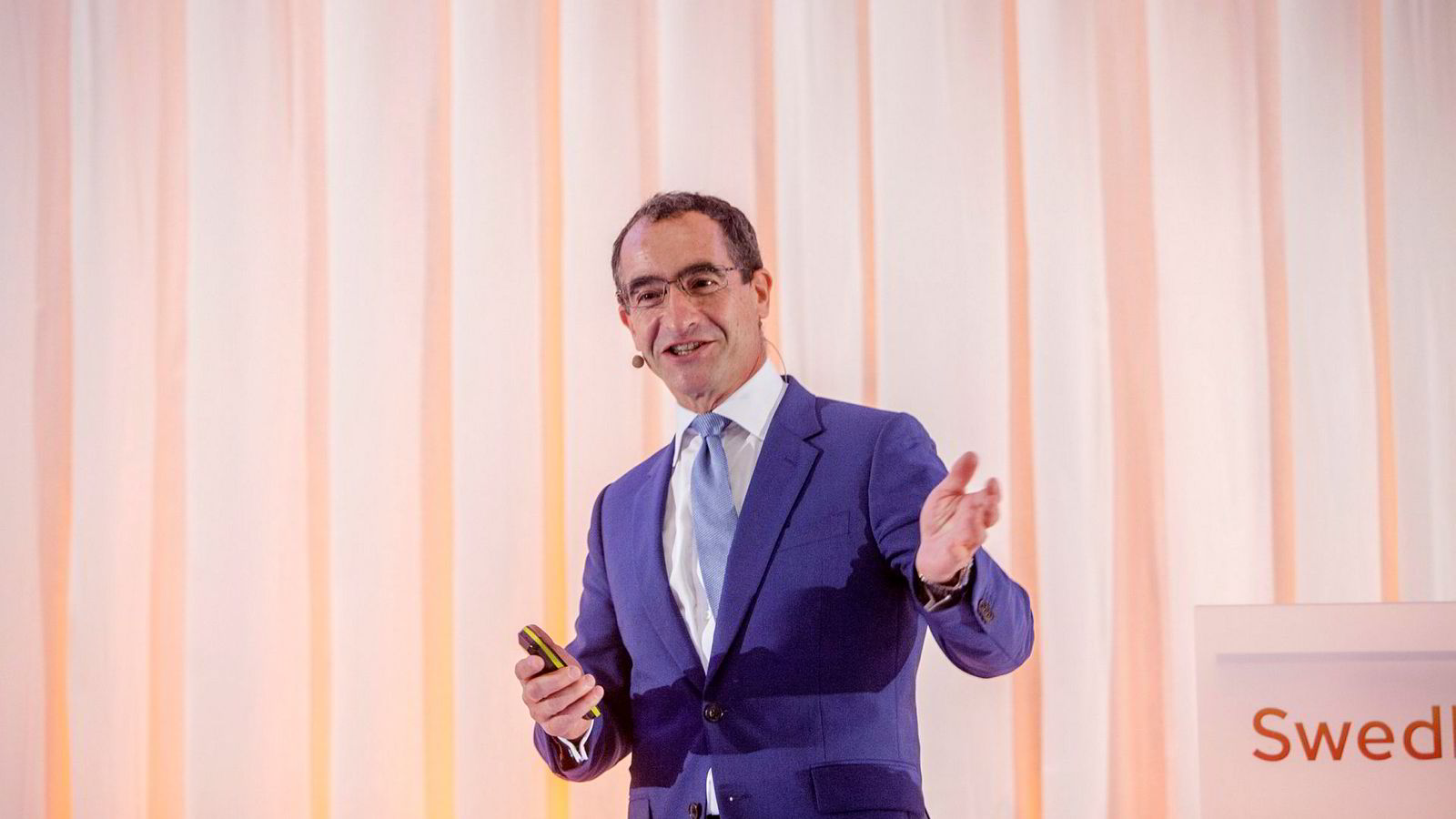 Sjef og grunnlegger av Liebreich Associates, Michael Liebreich.