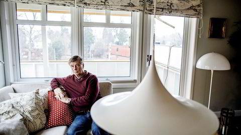 Stein Frich bandt renten på boliglånet for to år siden for å redusere renterisikoen. Foto: Gunnar Blöndal
