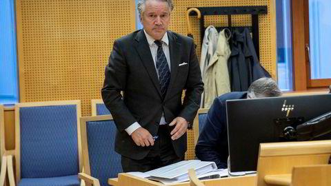Ola Røthe, styreleder i Jool Markets, møtte onsdag i retten. Selskapet kjemper for å kunne fortsette driften i selskapet som vanlig.
