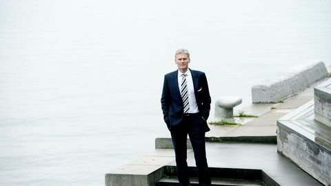 Danske Bank-sjef Thomas Borgen (bildet) er jevnlig i Oslo, og i oktober møtte han Rune Bjerke i DNB før Mobilepay ble gitt opp i Norge. Foto: Mikaela Berg