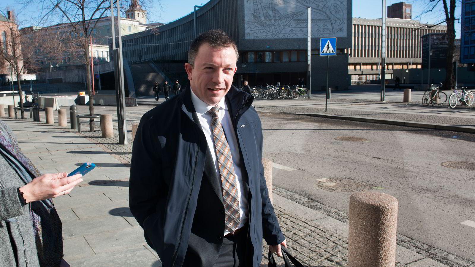 Administrerende direktør Karl Johnny Hersvik i Det norske.