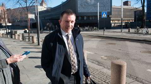 Administrerende direktør Karl Johnny Hersvik i Det norske. Foto: Per Ståle Bugjerde