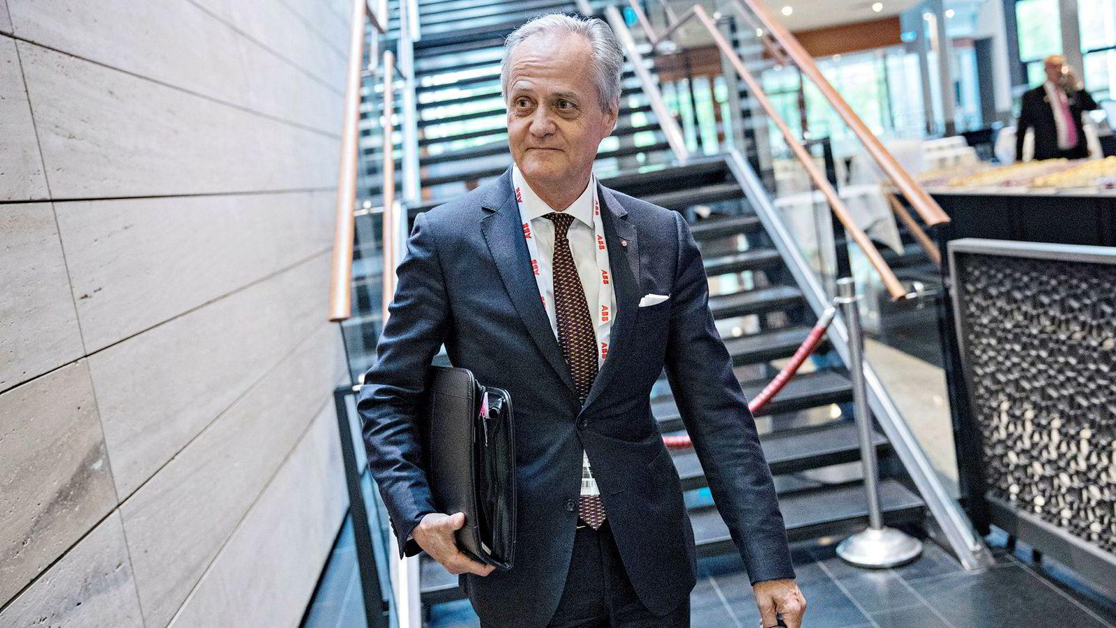 Styreleder og hovedaksjonær Kristian Siem.