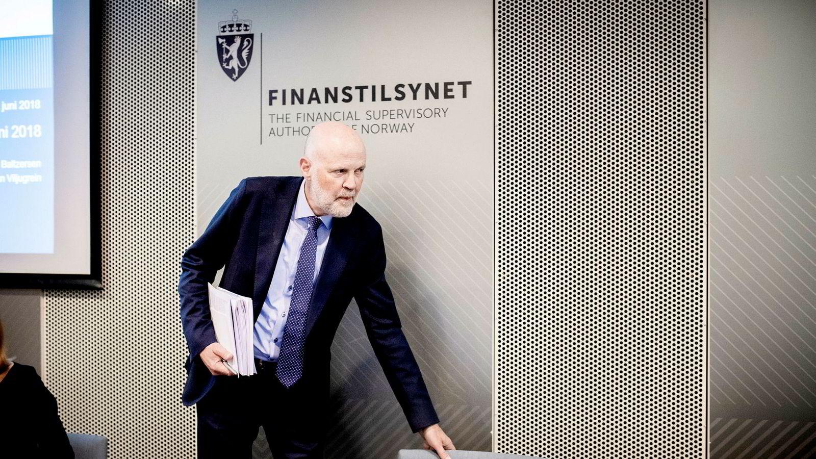 Morten Baltzersen er direktør i Finanstilsynet.