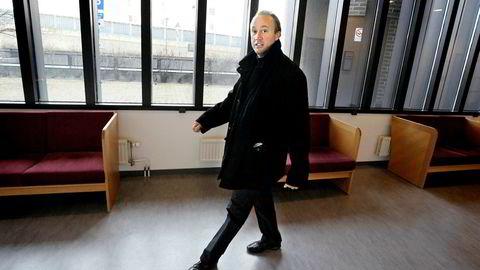 Thomas Jisander før han skulle i retten i 2008. Nå er han på nytt dømt til fengsel, men anker dommen.