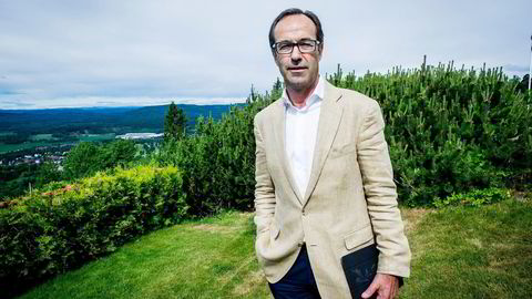 Et dansk selskap eid av det norske oppkjøpsfondet FSN Capital gjør flere titall norske IT-gründere rike når det kjøper det norske IT- og konsulentselskapet Mesan. Her FSN Capital-sjef Frode Strand-Nielsen. Foto: Gorm K. Gaare