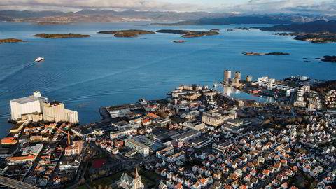 Boligprisveksten fortsatte i januar. Også prisene i Stavanger fikk et solid løft. Foto: Tommy Ellingsen