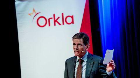 – Det har vært et krevende kvartal med fortsatte prisøkninger på sentrale råvarer i EU, sier konsernsjef Peter A. Ruzicka i Orkla etter fremleggelsen av selskapets resultater for tredje kvartal.