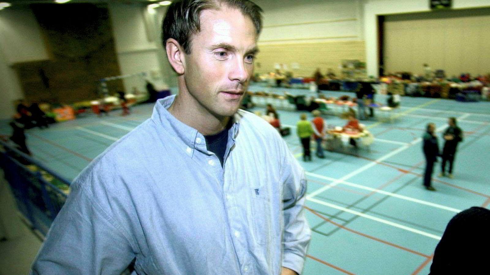 Rune Haugans heleide selskap Themar Holding as tjente i fjor rundt 59 millioner kroner på salget av selskapet Heimta Fokus as. Hagan har ikke gjort seg tilgjengelig for nye bilder. Dette bildet ble tatt i forbindelse med en julemesse i Hvalerhallen på Asmaløy i desember 2000.