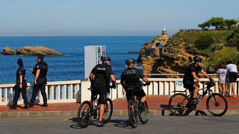 Over 13.000 politifolk skal patruljere gatene i den populære havnebyen, som ligger sørvest i Frankrike.