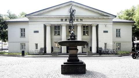 Hovedindeksen på Oslo Børs stiger fredag morgen. Foto: Berit Roald / SCANPIX