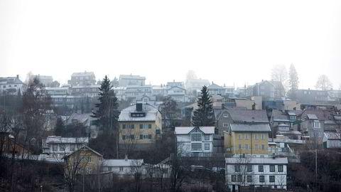 Boliger i Ekebergåsen Oslo.