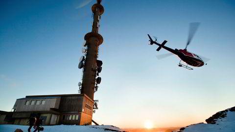 Tv-tårnet på Kattnakken på Stord er av de største installasjonene som huser basestasjoner i Norge. Huawei har levert basestasjoner til 4G-nettet, som det nye 5G-nettet vil bygge videre på.