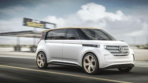 Volkswagen Budd-e ble avduket under elektronikkmessen CES i Las Vegas denne uken. Foto: Volkswagen