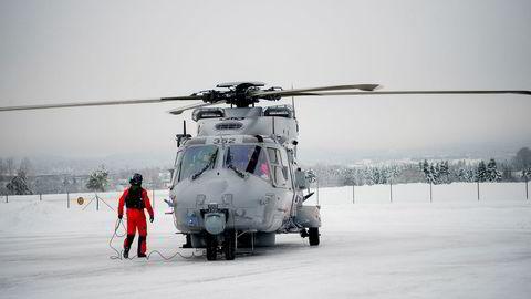 De 14 helikoptrene Forsvaret har kjøpt vil ikke være fult operative før i år 2020.